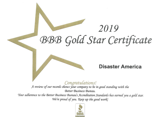 bbb gold star cert